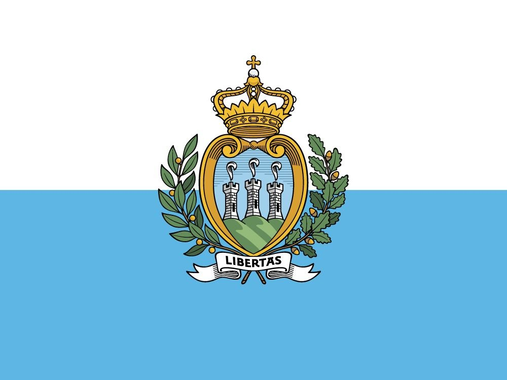 drapeau Saint-Marin