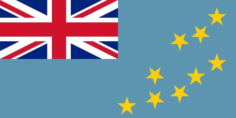 drapeau Tuvalu